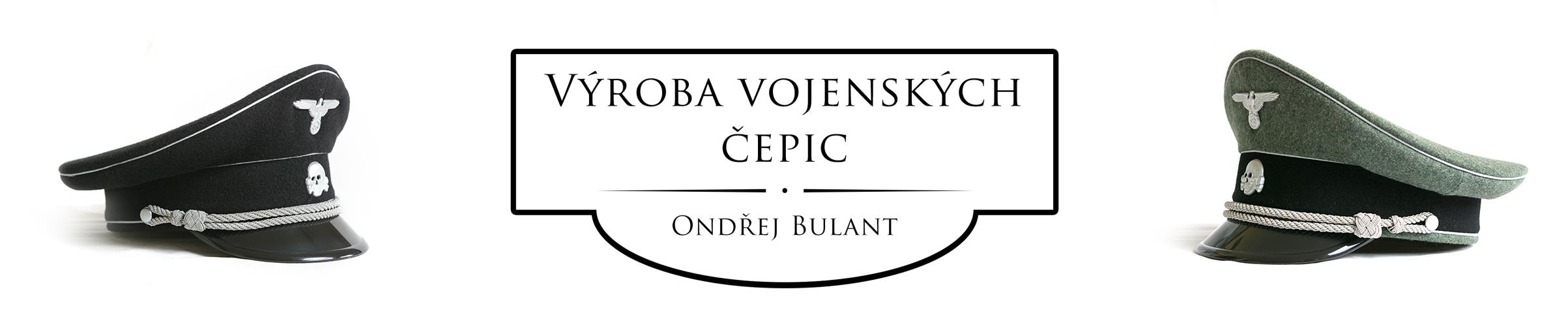 Vojenské brigadýrky a čepice - Ondřej Bulant